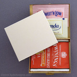 Sleek Travel Tea Bag & Sweetener Package Cases