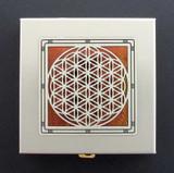 Flower of Life Decorative Pill Box