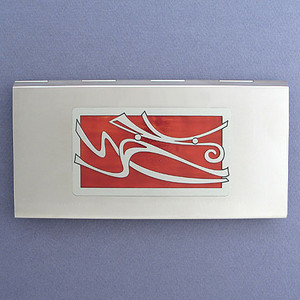 Winds Metal Checkbook Covers