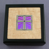 Christian Cross Small Decorative Wooden Box