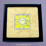 Sun Small Handcrafted Wooden Boxes