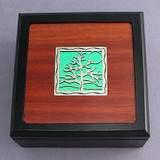 Tree of Life Wood Small Decorative Wooden Box