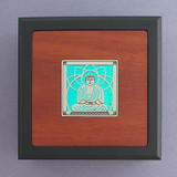 Buddha Small Handcrafted Wooden Box