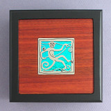 Monkey Small Handcrafted Wooden Box
