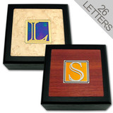 Decorative Monogram Letter Wooden Boxes