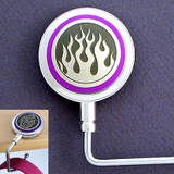 Fire Purse Hook with Flames