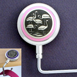 Flamingo Purse Hanger Hook for Table