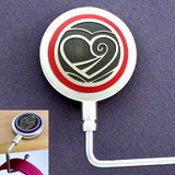 Hearts Table Handbag Holder