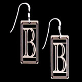 Monogram Letter B Earrings