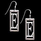 Monogram Letter E Earrings