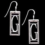 Monogram Letter G Earrings