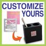 Custom Pen Holder - Choose Color and Design