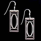 Monogram Letter O Earrings