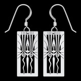Retro Art Deco Earrings
