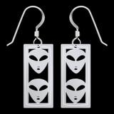 Alien Earrings