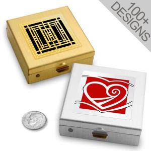 Cool Vitamin Pill Boxes in 100s of Unique Designs - 2 Compartment