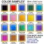 Vitamin pill box colors behind designs