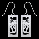 Tiger Earrings