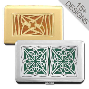 Decorative Credit Card Wallets & Cigarette Cases