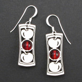 Cherry Beaded Earrings