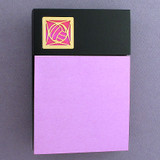 Volleyball Wood Post It Note Holder