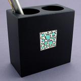 Animal Print Pen & Pencil Container