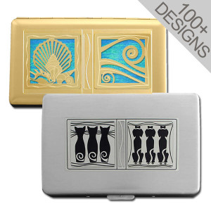 Customized Credit Card Cigarette Wallets