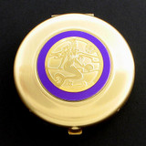 Mermaid Compact Mirror - Round