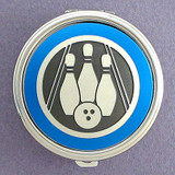 Bowling Pill Case - Round