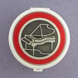 Piano Pill Case - Round