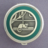 Cat Pill Case - Round