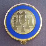 Chess Pill Case - Round