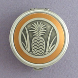 Pineapple Pill Case - Round