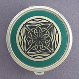 Celtic Pill Case - Round