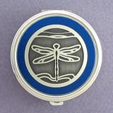 Dragonfly Pill Case - Round