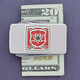 Cop Pocket Knife Money Clip