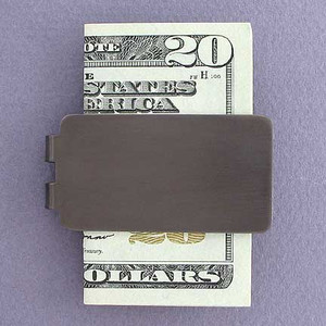 Gunmetal Money Clip
