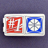 Basketball Champion Money Clips