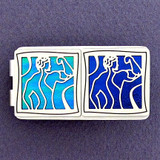 Greek Mythology Twins Money Clip