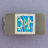 Mechanic Money Clip - Gunmetal