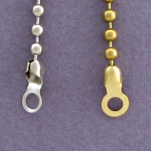 End Attachments Shown with Chain