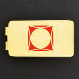 Basketball Money Clip - Gold