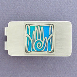 Hand Money Clip - Silver