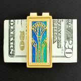 Egyptian Lotus Money Clip