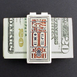 Egyptian Eye Money Clip