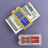 Retro Art Deco Money Clip