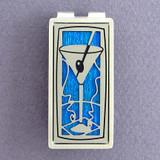 Martini Glass Money Clip