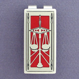 Libra Scales Money Clips