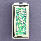 Spider Web Money Clips