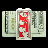 Cherries Money Clips